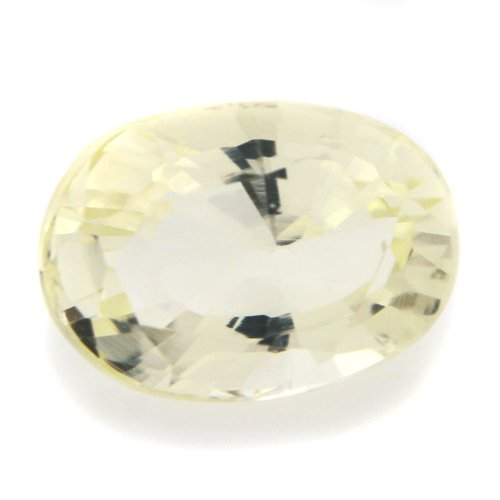 Natural Yellow Beryl Loose Gemstone Oval Cut 1.70cts 8*6mm SI Grade Marvelous