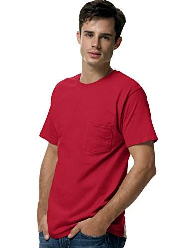 Hanes Men's Tagless Tee With Pocket