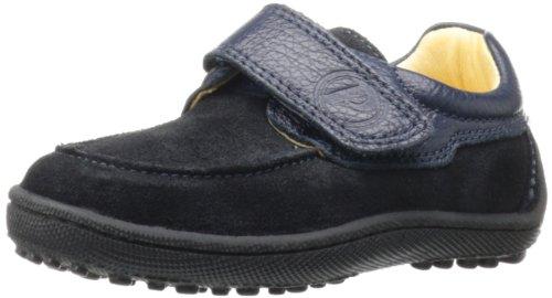 Primigi Edward-E Velcro Shoe (Infant/Toddler/Little Kid/Big Kid),Black/Blue,30 Eu(12-12.5 M Us Little Kid) front-925373