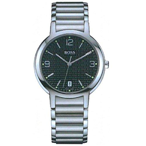 f7dc41803b13 Hugo Boss 1510027 Reloj analógico para mujer reloj de acero inoxidable 30 m  Fecha Plata Armario