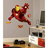 (27x40) IronMan Peel & Stick Giant Wall Decal