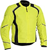 Firstgear Mesh Tex Jacket - Large/DayGlo/Black