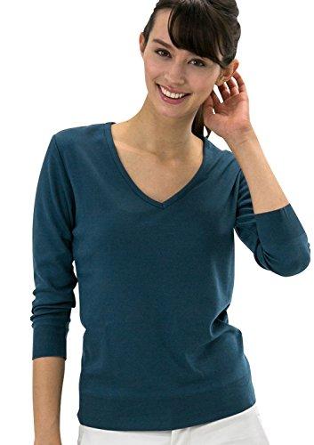 leonis-shirts-favorites-sudadera-button-down-clasico-para-mujer-azul-old-navy-small