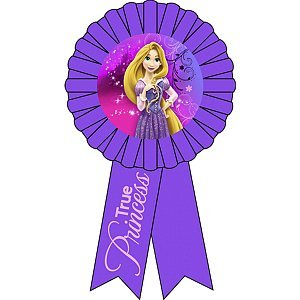 Hallmark Party Supply - Disney Princess Tangled - 1 Award Ribbon