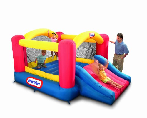 Great Deal! Little Tikes Jump n Slide Dry Bouncer