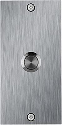 Stainless Steel Medium Rectangle Doorbell