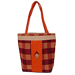 Womaniya Women's Handbag (Multicolor) (Handicraft Jute Bag)