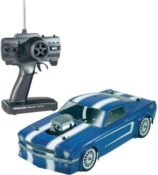Reely 01:10 electric street model car Mustang Hot Rod 4WD EB-250ZR RtR 40 MHz AM