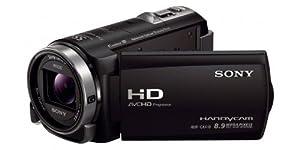 Sony HDR-CX410 Videocamera Digitale Full HD, 5.4 Mpx, Sensore CMOS Exmor R, B.O.SS., Nero