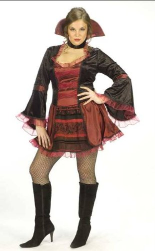 Vamp Sassy Victorian Costume Plus Adult