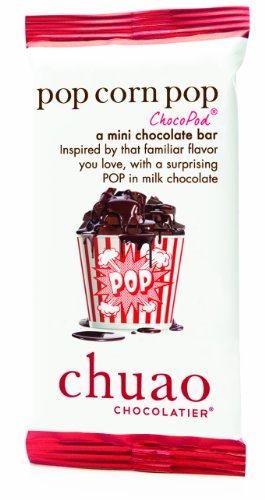 Chuao Chocolatier Pop Corn Pop Chocopods - Mini Chocolate Bars (100-Pack)