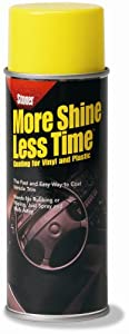 Stoner More Shine Less Time for Vinyl, Plastic, and Rubber 9 oz. Aerosol Can by Stoner