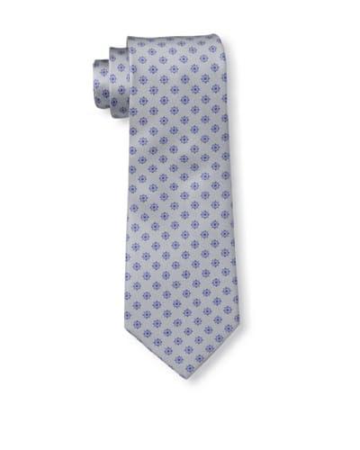 Valentino Men's Mini Medallion Tie, Grey