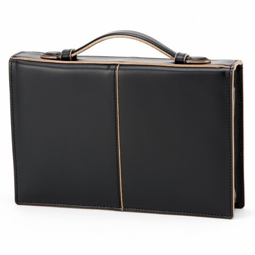 LuggageAOKI(青木鞄)[COMPLEX-GARDENS 枯淡]セカンドバッグ 3方ファスナー ブラック(3709-10)