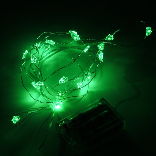 Supernight (Tm) Green Xmas Tree Decorative Led Strings Lights Valentine'S Led Strings Copper Led Strings Window Door Garden Kitchen Led Decoration