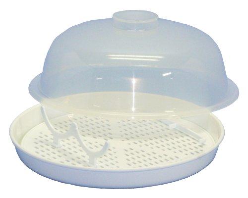 電子レンジ用スチーム殺菌容器