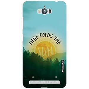 Asus Zenfone Max ZC550KL Back Cover - Silicon Comes The Sun Designer Cases