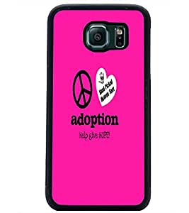 PrintDhaba Quote D-5586 Back Case Cover for SAMSUNG GALAXY S6 (Multi-Coloured)