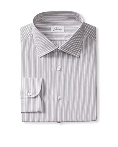 Brioni Men's Brioni Stripe Dress Shirt