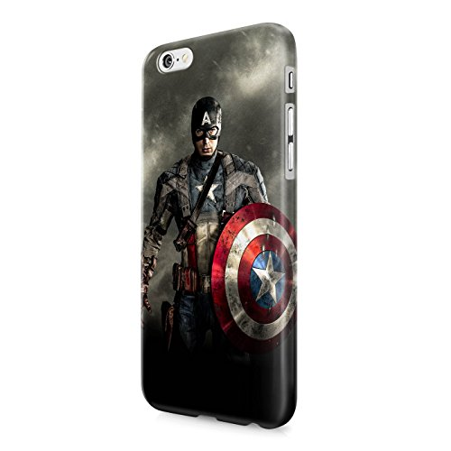 Captain America The Avengers Shield Superhero Hard Snap-On Protective Case Cover For Iphone 6 PLUS / Iphone 6S PLUS