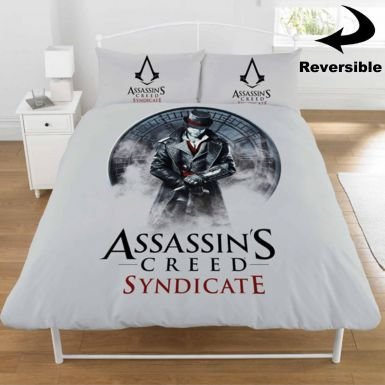 Assassins Creed Syndicate-Set copripiumino per letto doppio