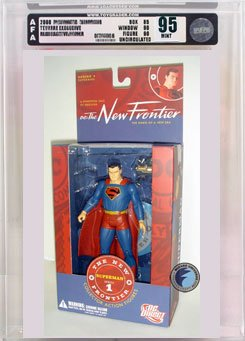 Picture of AFA JLA New Frontier 1: Superman Action Figure AFA 95 (B000QH1204) (Superman Action Figures)