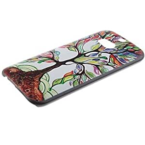 GENERIC Colorful Tree Pattern PC Hard Case and Phone Holder for HTC One(M8) #02637001