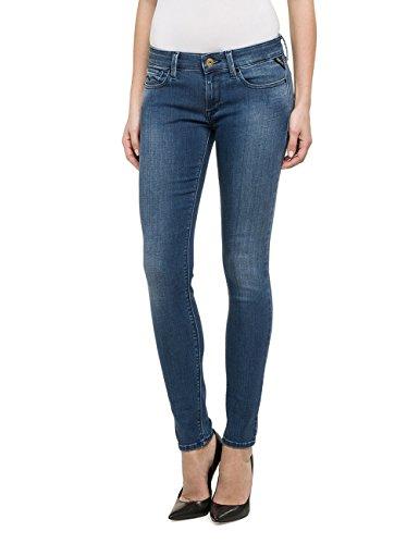 Replay Damen Skinny Jeanshose LUZ, Gr. W28/L30 (Herstellergröße: 28), Blau (Blue Denim 9) thumbnail