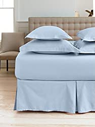 "Martha Stewart Collection ""360 Thread Count"" Solid Sham, King Sky Blue"