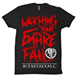 BLESS THE FALL - Lyrics - Black T-shirt - BLESSTHEFALL
