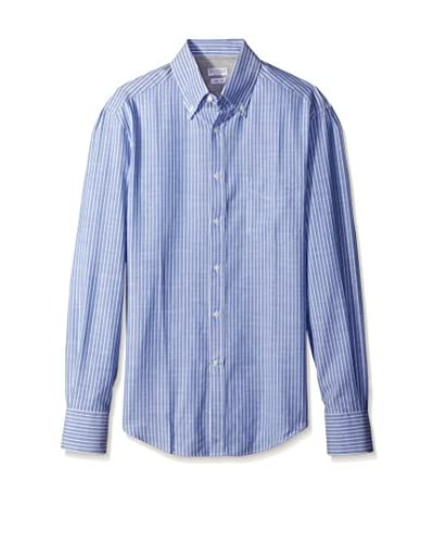 Brunello Cucinelli Men's Slim Fit Striped Sport Shirt