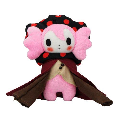 5.5″ Puella Magi Madoka Magica Charlotte Witch Handmade Stuffed Plush Doll image