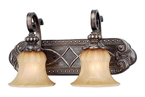 Bellagio 2L Vanity Light Parisian Bronze