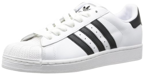 adidas - Sneaker Superstar II M, Donna, (White/Black), 44 2/3 (10 UK)