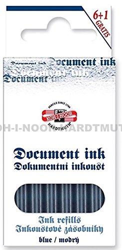 Koh-I-Noor Document Cartouche pour Stylo à plume - Bleu