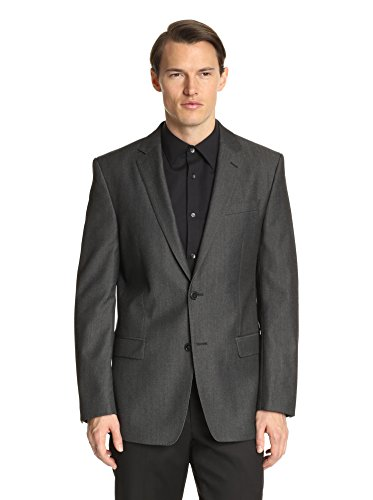 Versace Collection Men's Twill Notch Lapel Sport Coat