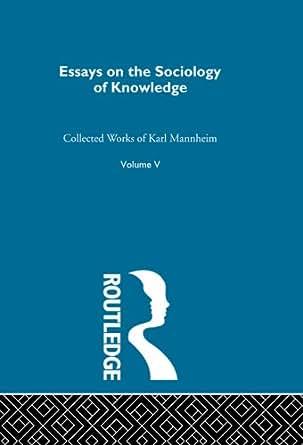 Essays in sociology amazon