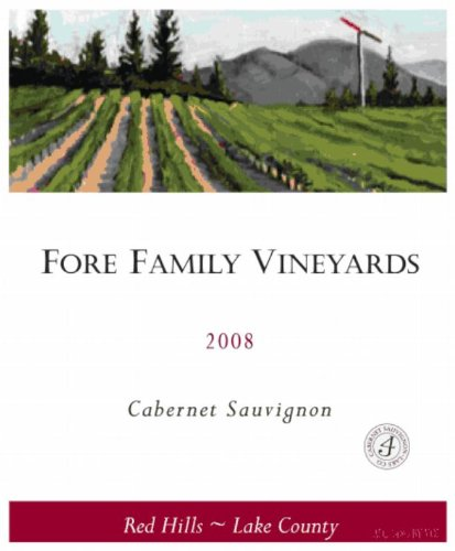 2008 Fore Family Vineyards Lake County Red Hills Cabernet Sauvignon 750 Ml