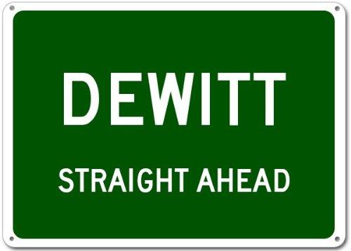 DeWitt City Sign