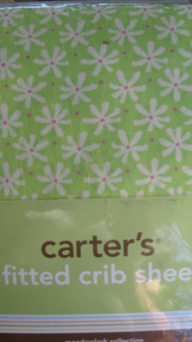 Carter's Meadowlark Collection Fitted Crib Sheet - 1