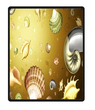 Seashell Throw Blanket front-1030208