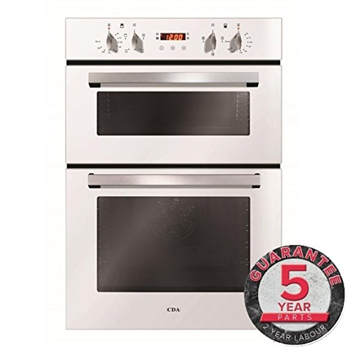 CDA DC940WH Built in Double Electric Oven in White