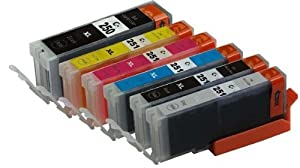 2inkjet© Set of 6 PACK PGI-250XL & CLI-251XL Compatible Ink Cartridge (with Gray) for Canon Pixma MG6320, MG7120