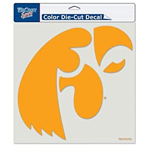 Buy Iowa Hawkeyes Die-Cut Decal - 8x8 Color by Caseys