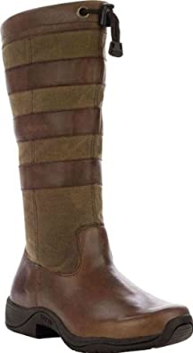 """Rocky Women's 14"""" BARNSTORMER Pull On Brown Boots 6 M"""