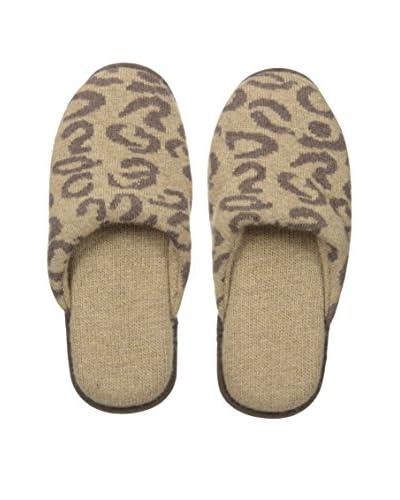 Portolano Women's Leopard Slipper