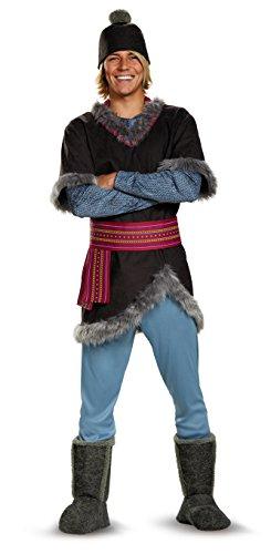 Disguise Men's Frozen Kristoff Costume, Multi, X-Large (Frozen Adults Costumes)