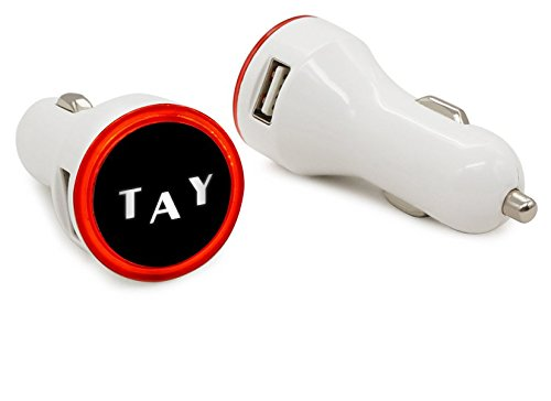 Dual-USB-Round-Shape-Car-Charger-Car-Charger-for-2-devices-with-LED-for-iPhone-Samsung-LG