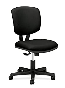 HON Volt H5703 Task Chair with Synchro Title for Office or Computer Desk, Black