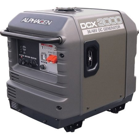 Alpha 3.0Kw Portable 36/48Vdc Generator System For Emergency Backup.